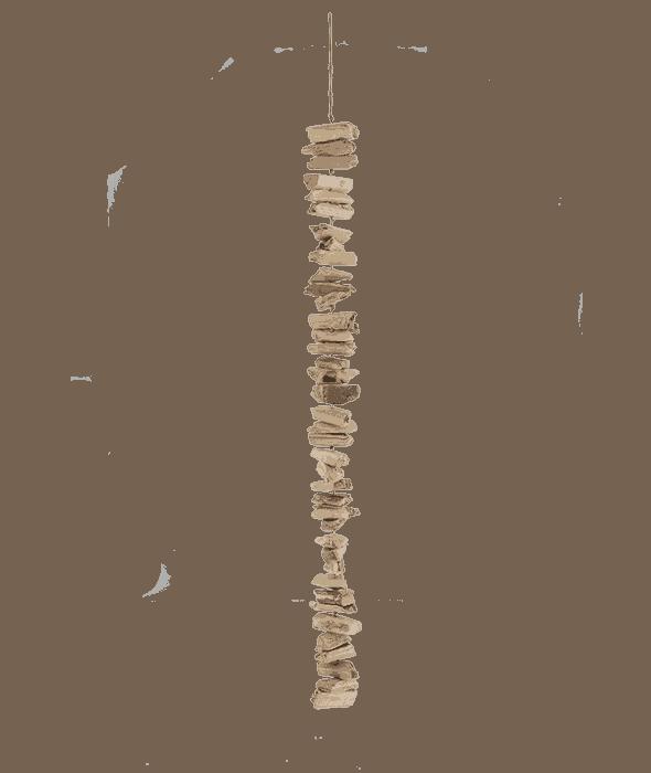 Collana ceppi legno 60 cm