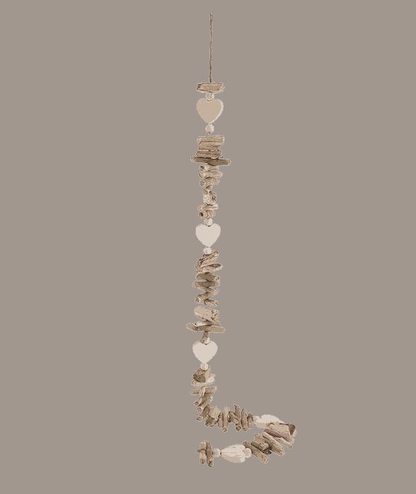 Collana ceppi legno 100 cm