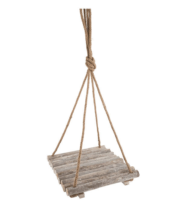 Schaukelregal Holz  40×40 cm