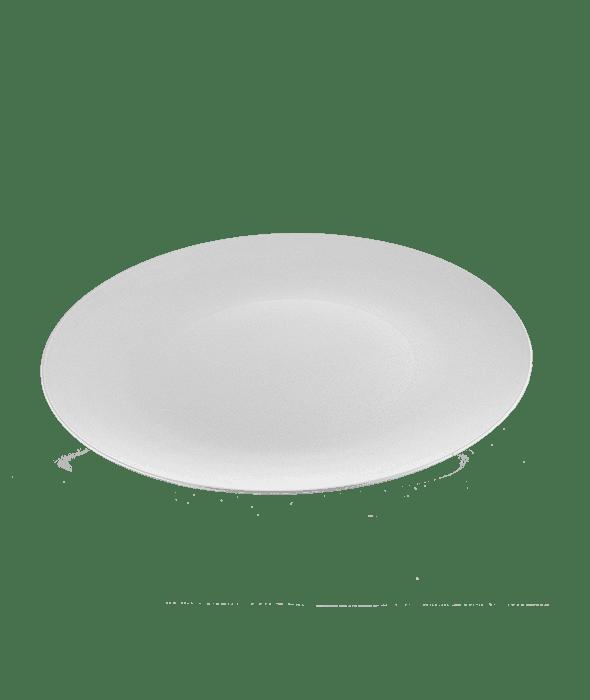 Sottopiatto plastica rotondo argento d.33 cm