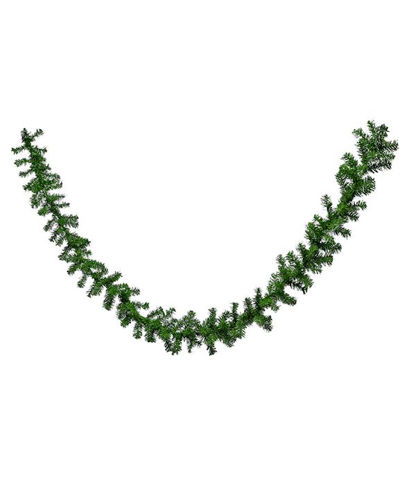 Festone verde pino PVC 160 rami 2,70 m