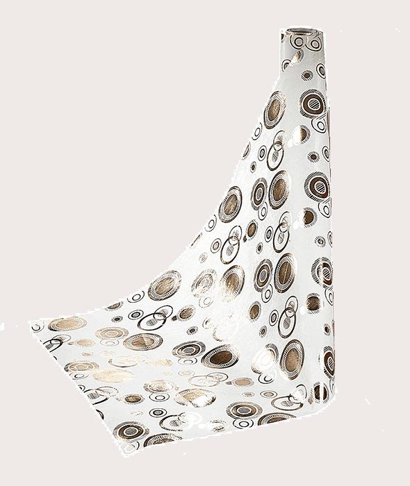 Tessuto TNT cerchi copper 48×450 cm