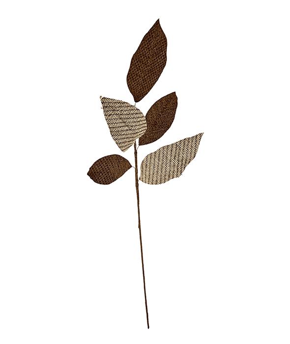 Ramo foglie juta pied de poule 60 cm