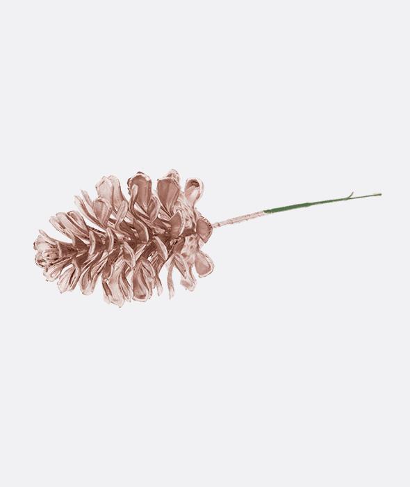 Pick pigna plastica rosa 21 cm