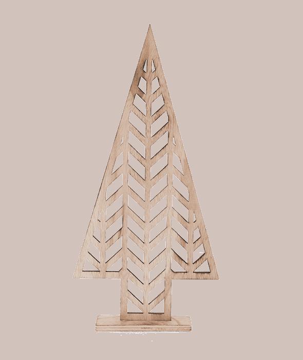 Pino legno traforato h.41 cm