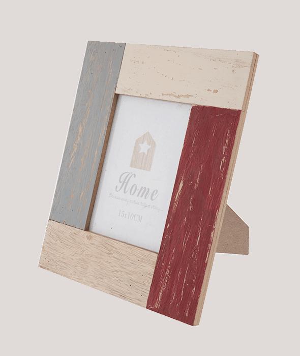 Portafoto legno vintage 19×24 cm